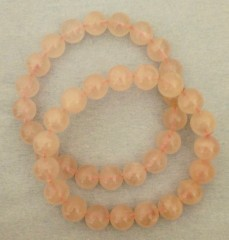 Rose quartz bracelet 10mm
